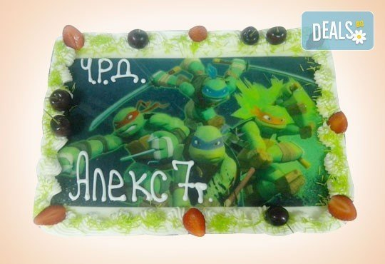 Сладкарница Орхидея сбъдва детските мечти! Поръчайте торта със снимка - Миньоните, Мечо Пух, Макуин, Елза или с Ваша снимка! - Снимка 28