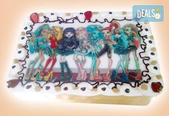 Сладкарница Орхидея сбъдва детските мечти! Поръчайте торта със снимка - Миньоните, Мечо Пух, Макуин, Елза или с Ваша снимка! - Снимка 30