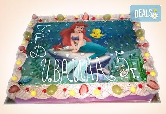 Сладкарница Орхидея сбъдва детските мечти! Поръчайте торта със снимка - Миньоните, Мечо Пух, Макуин, Елза или с Ваша снимка! - Снимка 24