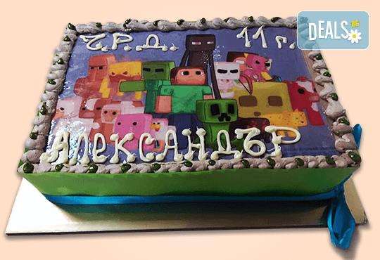 Зарадвайте детето с торта със снимка на любим герой от Сладкарница Орхидея! - Снимка 8