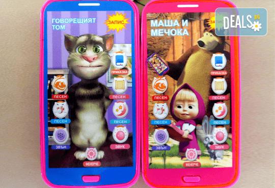 Изненадайте своя малчуган! Детски смартфон с български приказки и песни от Магнифико! - Снимка 1