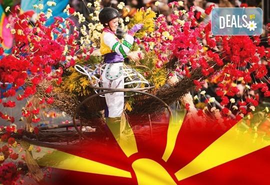 Посетете карнавала в Струмица, наричан още Малкия Рио де Жанейро, на 17.02. - транспорт и екскурзовод от Глобул Турс! - Снимка 1