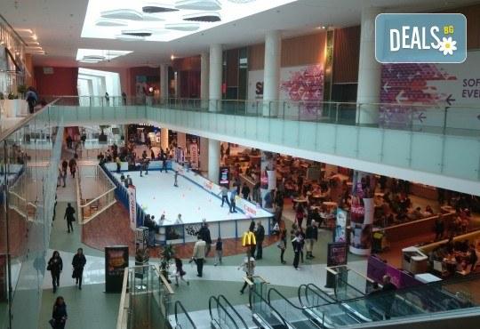 Целогодишна карта за наем на кънки и неограничено пързаляне, валидна до 31.12.2018г. от синтетична ледена пързалка Ice Synthetic Rink в мол Paradise Center! - Снимка 7
