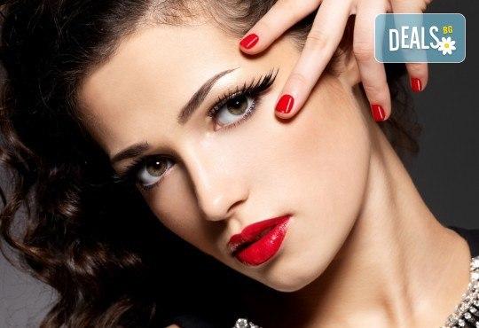 Прекрасни ръце! Маникюр с гел лак Gel.it и Pro Gel и сваляне на предишен гел лак в Салон за красота Blush Beauty до Mall of Sofia! - Снимка 1