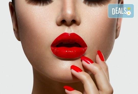 Прекрасни ръце! Маникюр с гел лак Gel.it и Pro Gel и сваляне на предишен гел лак в Салон за красота Blush Beauty до Mall of Sofia! - Снимка 3