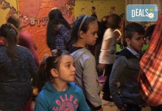 Незабравим празник за Вашето дете в бистро Папи! Детски кът с много игри, състезания и танци, вкусно хапване, торта и подарък за рожденника! - Снимка 6