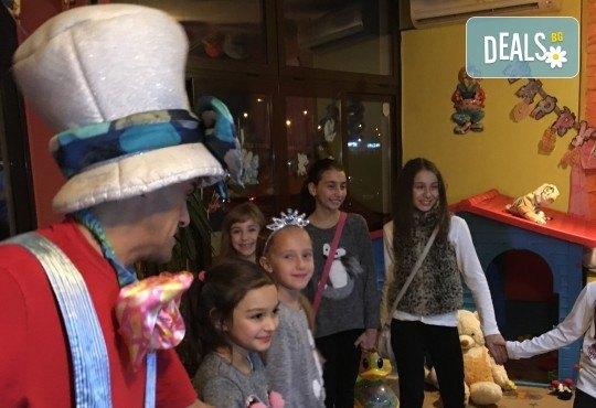 Незабравим празник за Вашето дете в бистро Папи! Детски кът с много игри, състезания и танци, вкусно хапване, торта и подарък за рожденника! - Снимка 7