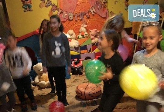 Незабравим празник за Вашето дете в бистро Папи! Детски кът с много игри, състезания и танци, вкусно хапване, торта и подарък за рожденника! - Снимка 8