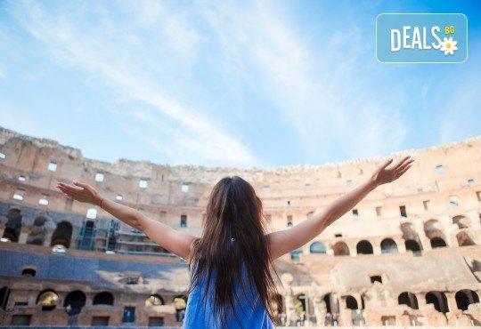 Лято в Рим, Италия: 3 нощувки със закуски, самолетен билети и такси