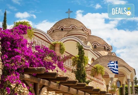 Посрещнете Гергьовден на остров Тасос, Гърция, със ТА Солео 8! 2 нощувки със закуски в хотел 2/3*, Лименас, транспорт и екскурзовод - Снимка 1