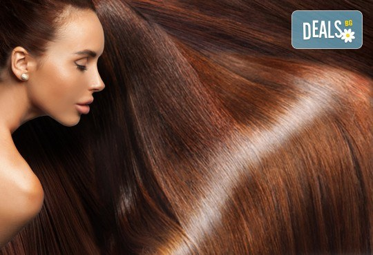 Стилна прическа бързо и евтино! Полиране на коса и стилизиране с дълбоко подхранващи продукти на KEUNE Ивелина Студио! - Снимка 4