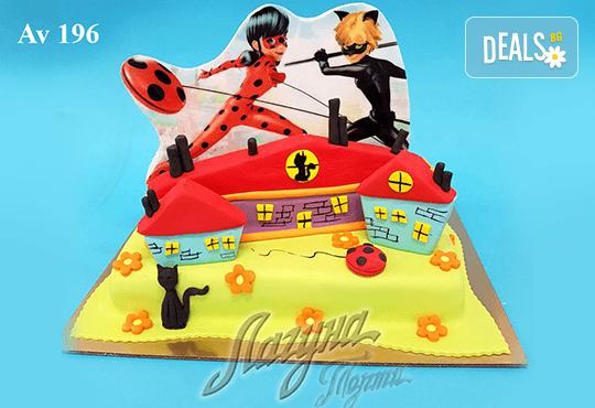 """Фигурална 3Д торта за незабравимия празник на Вашето дете от Виенски салон """"Лагуна""""! Подарък - поздравителен надпис + свещичка и възможност за доставка до Вашия дом! - Снимка 2"""