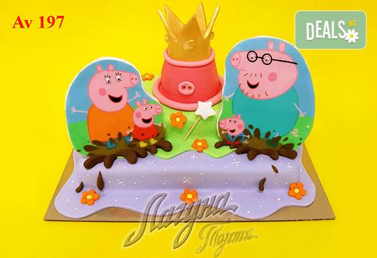 """Фигурална 3Д торта за незабравимия празник на Вашето дете от Виенски салон """"Лагуна""""! Подарък - поздравителен надпис + свещичка и възможност за доставка до Вашия дом! - Снимка 3"""