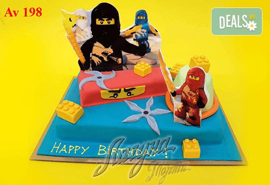 """Фигурална 3Д торта за незабравимия празник на Вашето дете от Виенски салон """"Лагуна""""! Подарък - поздравителен надпис + свещичка и възможност за доставка до Вашия дом! - Снимка 4"""
