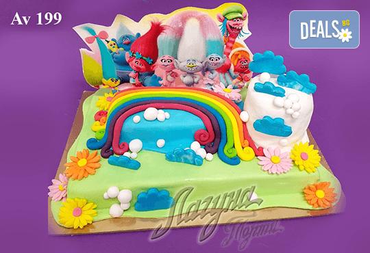 """Фигурална 3Д торта за незабравимия празник на Вашето дете от Виенски салон """"Лагуна""""! Подарък - поздравителен надпис + свещичка и възможност за доставка до Вашия дом! - Снимка 5"""