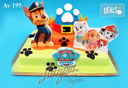 """Фигурална 3Д торта за незабравимия празник на Вашето дете от Виенски салон """"Лагуна""""! Подарък - поздравителен надпис + свещичка и възможност за доставка до Вашия дом! - Снимка 1"""