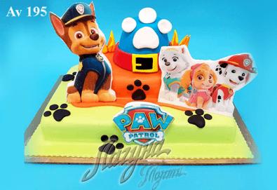 """Фигурална 3Д торта за незабравимия празник на Вашето дете от Виенски салон """"Лагуна""""! Подарък - поздравителен надпис + свещичка и възможност за доставка до Вашия дом! - Снимка"""