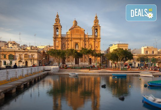 Екскурзия до очарователната Малта през март, с Дари Травел! 4 нощувки със закуски в хотел 3* в Сейнт Джулианс, самолетен билет, трансфери, застраховка - Снимка 3