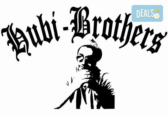 Подарете си незабравим празник! Куверт за двама - две порции прясна паста по избор и две чаши вино от Hubi-Brothers, в Дружба 2! - Снимка 6