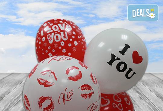 Зарадвайте любимия човек с оригинална чаша с тематична картинка по избор и 7 балона с хелий от Парти магазин Рая! - Снимка 2