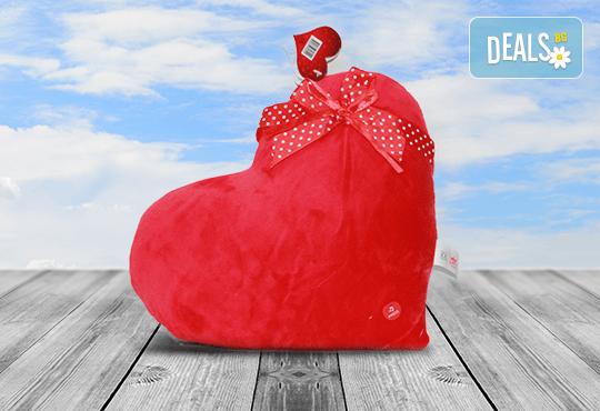Изненадайте своята половинка на празника! Подарете плюшена възглавничка сърце или калинка и ефектен фолио балон с хелий, от Парти магазин Рая! - Снимка 6
