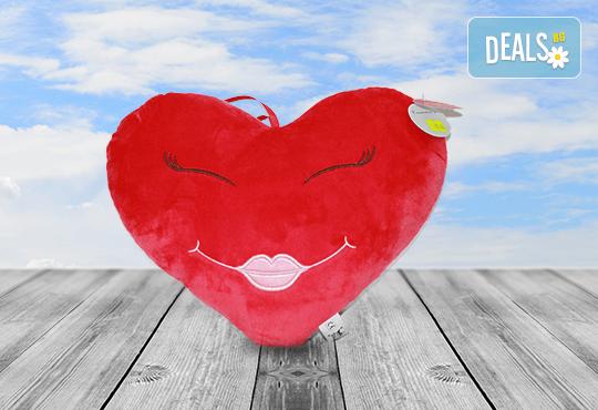 Изненадайте своята половинка на празника! Подарете плюшена възглавничка сърце или калинка и ефектен фолио балон с хелий, от Парти магазин Рая! - Снимка 5