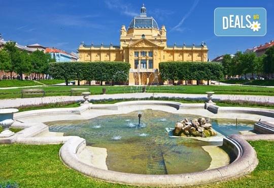 Пролет в Хърватия! 3 нощувки със закуски и вечери в хотел 2/3* на о-в Крк, транспорт и посещение на Плитвичките езера и Загреб - Снимка 6