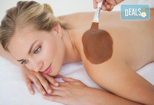 Романтика за Вас и любимия човек! Шоколадов масаж за двама, сауна и подарък: бутилка вино в M&B Esthetic Center! - Снимка 3