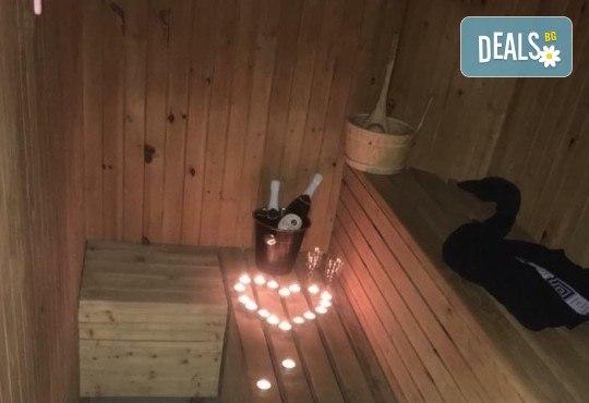 Романтика за Вас и любимия човек! Шоколадов масаж за двама, сауна и подарък: бутилка вино в M&B Esthetic Center! - Снимка 4