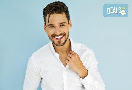 Специално предложение за мъжете! Бръснарство на коса, оформяне на вежди и на брада в M&B Esthetic Center! - Снимка 2