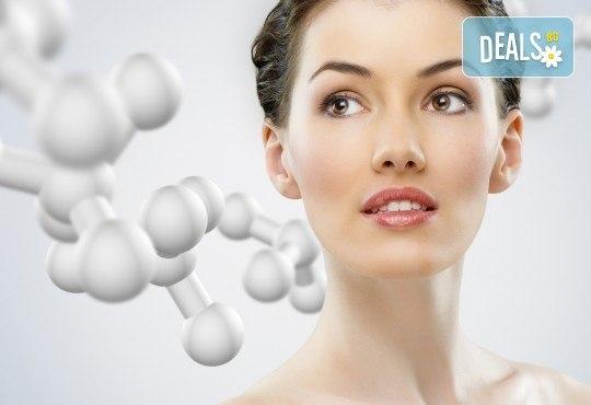 Безиглена мезотерапия на лице с хиалуронова киселина, колаген или фитостволови клетки + бонус в салон Kult Beauty! - Снимка 1