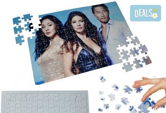 Уникален подарък за Вашите близки! Пъзел формат А4 със снимка по желание на клиента от Elegans! - Снимка 2