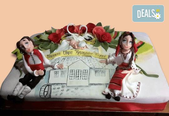 За почитателите на българската музика и фолклор! Едноетажна торта с 25 парчета от Сладкарница Джорджо Джани! - Снимка 6