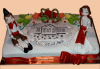 За почитателите на българската музика и фолклор! Едноетажна торта с 25 парчета от Сладкарница Джорджо Джани! - thumb 1