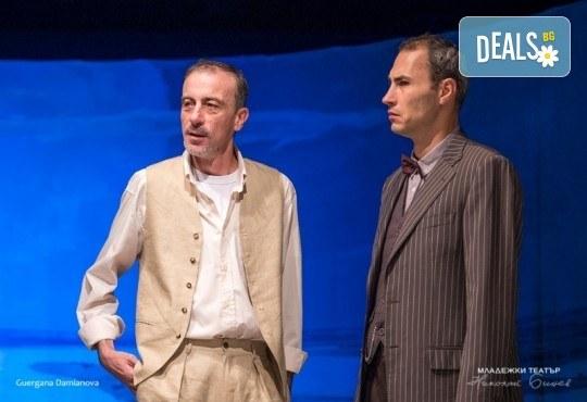 Гледайте постановката Иванов от А. П. Чехов, на 13.03. от 19ч., в Младежки театър! С награда Икар 2017 за поддържаща мъжка роля! 1 билет - Снимка 5