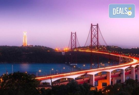 Екскурзия до очарователния Лисабон, Португалия, с Лале Тур! 3 нощувки със закуски в хотел 3*/4*, самолетен билет, летищни такси и застраховка - Снимка 4