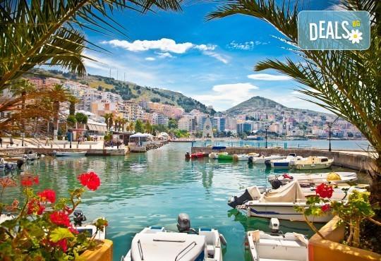 Почивка в Саранда, Албания, през юни или септември с България Травъл! 5 нощувки със закуски и вечери в хотел 4*, транспорт - Снимка 1