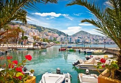 Почивка в Саранда, Албания, през юни или септември с България Травъл! 5 нощувки със закуски и вечери в хотел 4*, транспорт - Снимка