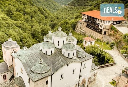 За 1 ден до Крива паланка и Осоговския манастир: транспорт и екскурзовод
