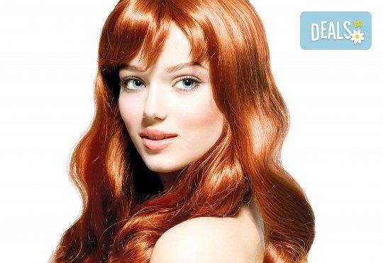 Цялостна грижа за Вашата коса с боядисване, подстригване и оформяне на прическа по избор в салон за красота Коса и Грим! - Снимка 1