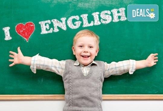 Двумесечен онлайн курс по английски език за деца от предучилищна възраст до 3-ти клас в езиков център Language Academy! - Снимка 1