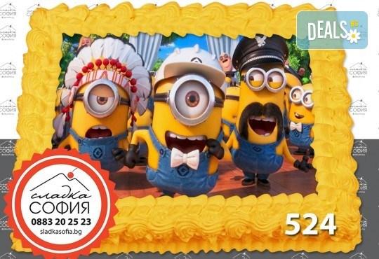 Детска торта с картинка на любим герой и включена доставка от Сладка София! - Снимка 19