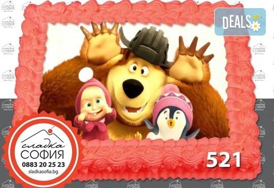 Детска торта с картинка на любим герой и включена доставка от Сладка София! - Снимка 20