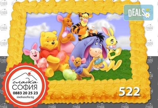 Детска торта с картинка на любим герой и включена доставка от Сладка София! - Снимка 21