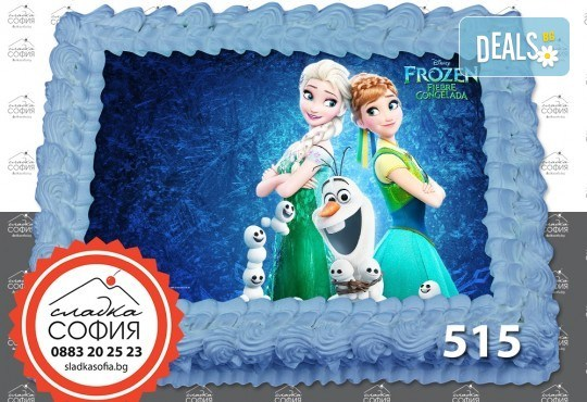 Детска торта с картинка на любим герой и включена доставка от Сладка София! - Снимка 30