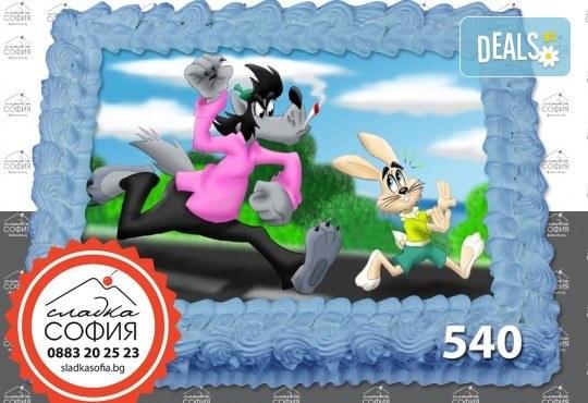 Детска торта с картинка на любим герой и включена доставка от Сладка София! - Снимка 11