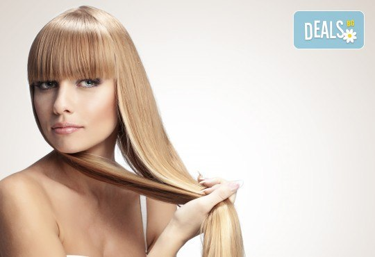 Кератинова терапия с продукти на JOIKO, бонус: подстригване на връхчета и изправяне на косата в салон за красота Мария Везенкова! - Снимка 1