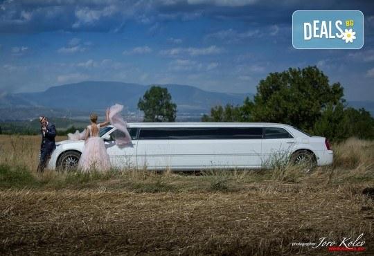Лукс и класа! 10-часов наем на 10-местна лимузина Крайслер за Вашата сватба, специален ден или фотосесия от San Diego Limousines! - Снимка 3
