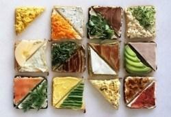 За Вашето парти! 45 броя сандвичи микс от H&D catering, София - с възможна доставка до Вашия дом + бонус: 30 бр. кокосови топки - Снимка