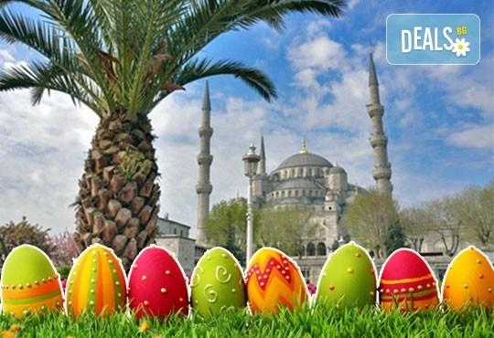 За Великден в Истанбул, Турция, с Дениз Травел! 3 нощувки със закуски в хотел 2/3*, транспорт и бонус: посещение на Българската желязна църква! - Снимка 1